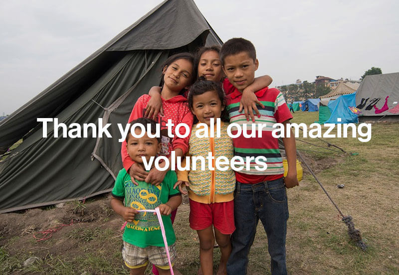 Thank you from Nepal to all Volunteers quotes