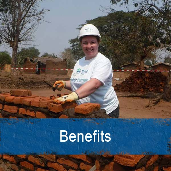 Employee engagement benefits with charity