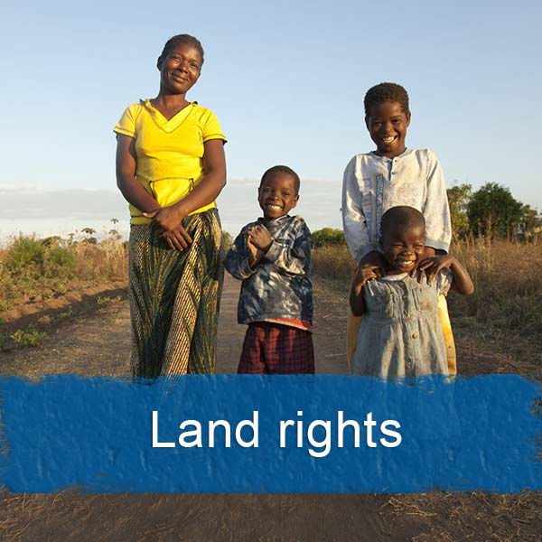 land rights advocacy work