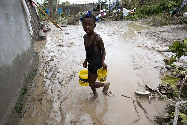 Tackling floods after Hurricane Matthew in Haiti