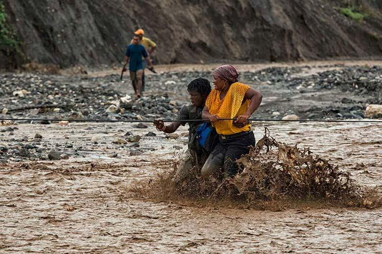 Haiti Hurricane Matthew flood damage