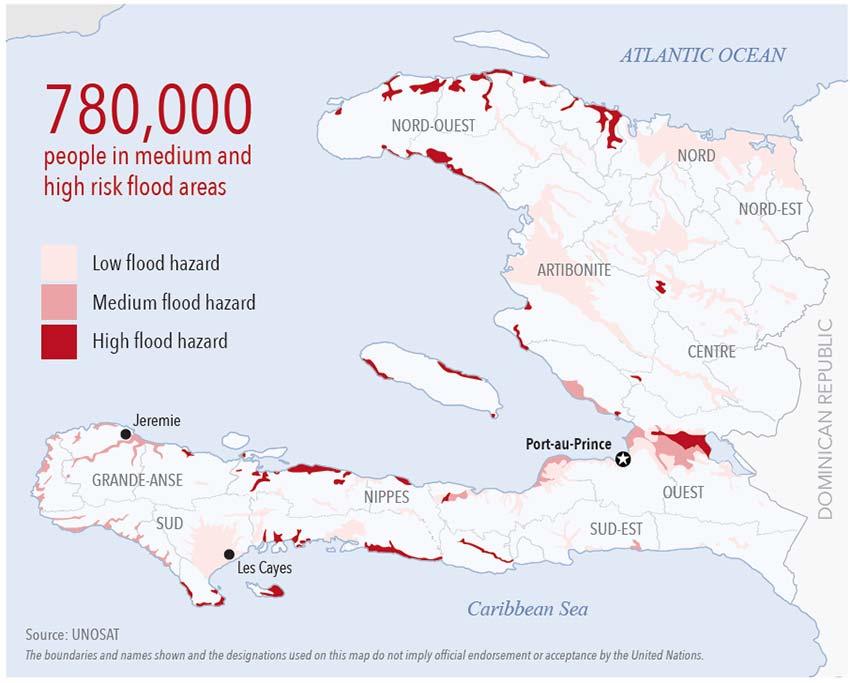 Haiti Hurricane Matthew Floods Damage