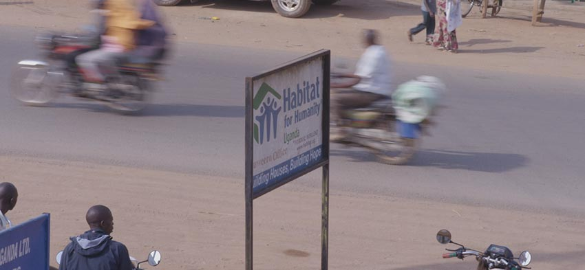 Habitat for Humanity Uganda micro-loans
