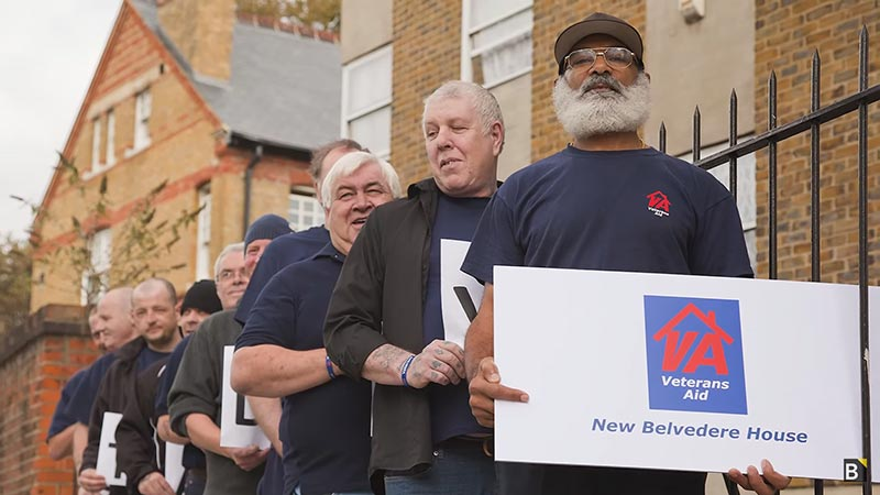 Charities Helping UK Veterans Escape Homelessness