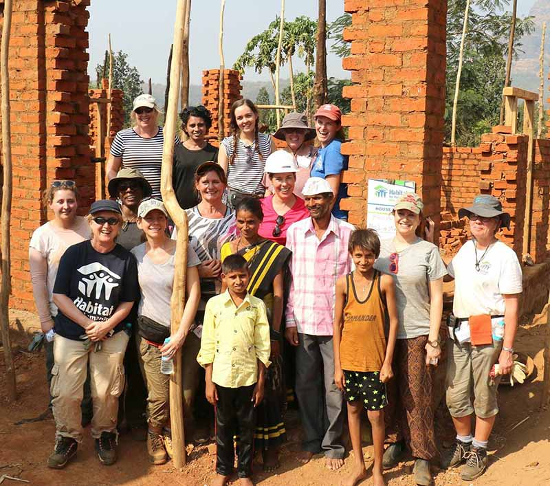 Female Home Builders Volunteer in India Mumbai