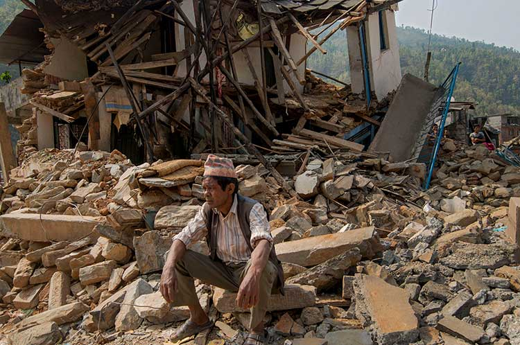 humanitarian assistance & urban development in Nepal