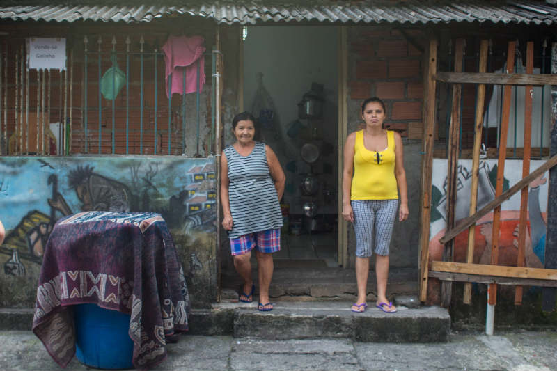 Tackling inequalities in slums / favelas in Brazil