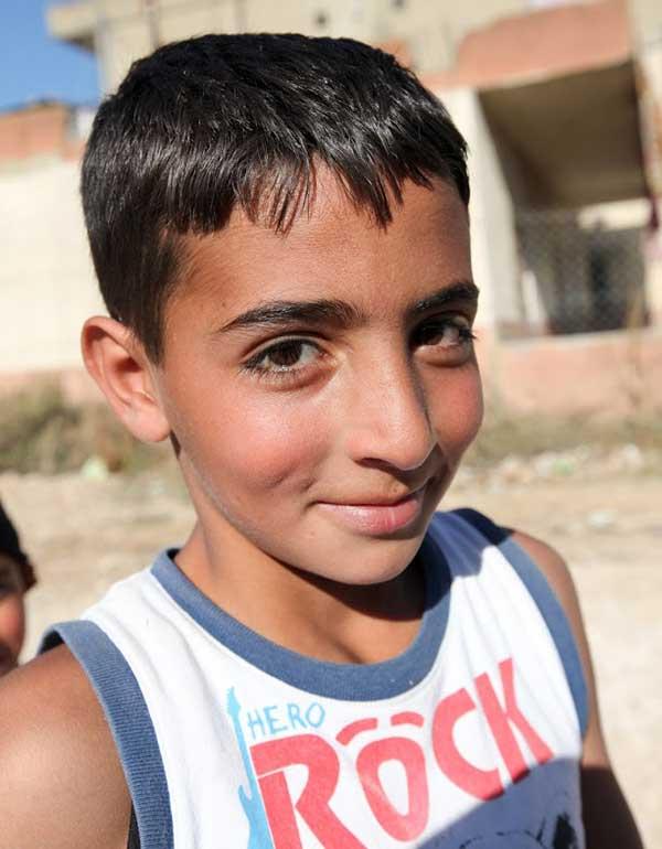 child refugee in lebanon