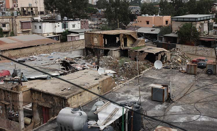 Destruction homes Lebanon reconstruction