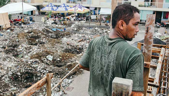 humanitarian intervention in slums in Manila