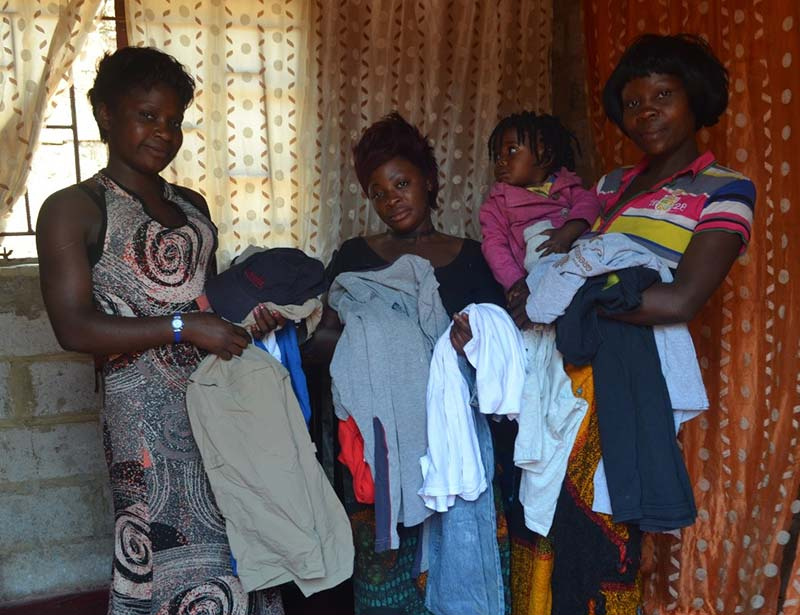 Helping vulnerable families in poverty in Zambia