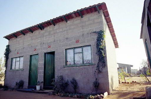 building homes for HIV-AIDS affected families