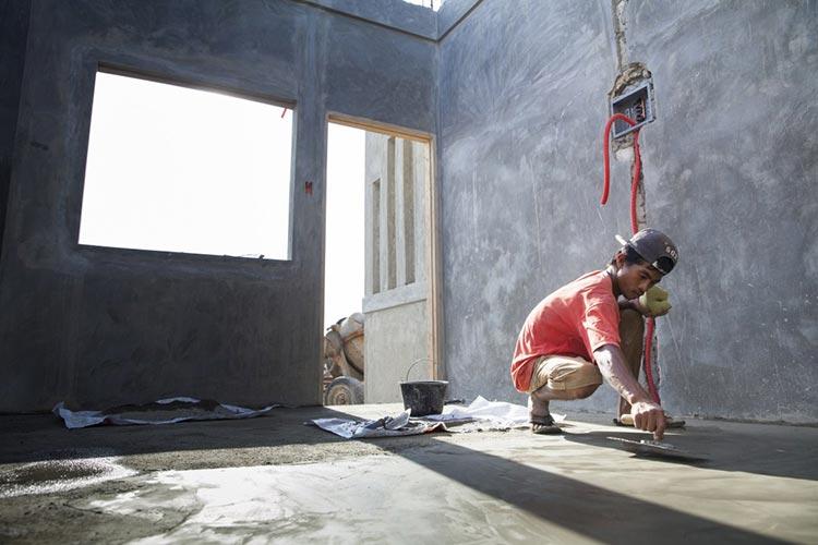 rebuilding after super storm haiyan