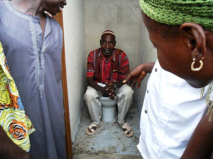 toilets save lives in Africa