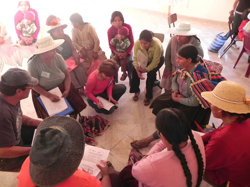 School for women in Bolivia
