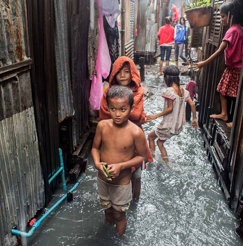 Living in The World's Largest Slums