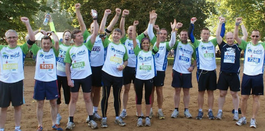 Fundraise for charity: runs and races with Habitat for Humanity