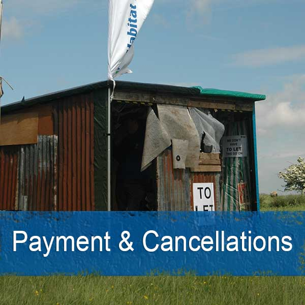 payment and cancellation policies