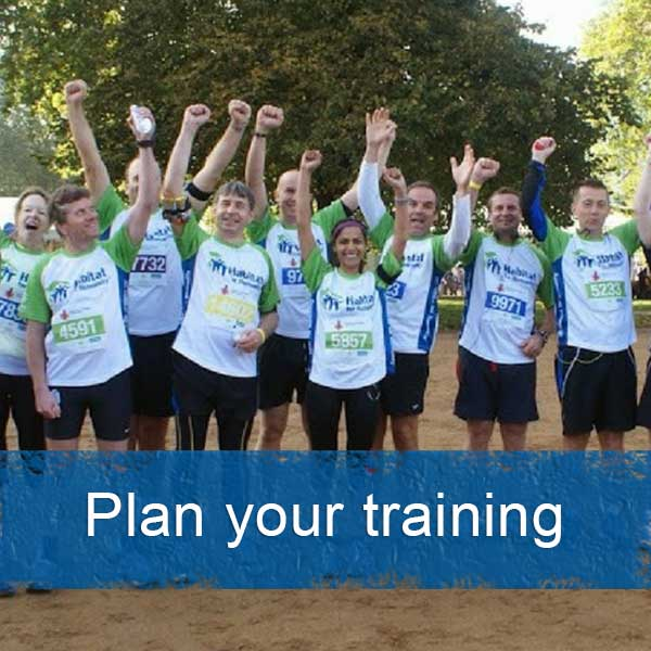 Plan your training for a challenge event