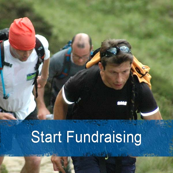 Start fundraising for hope challenge
