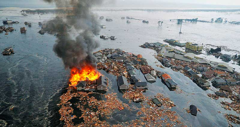 Mitigating and adapting to climate change: natural disasters on the rise