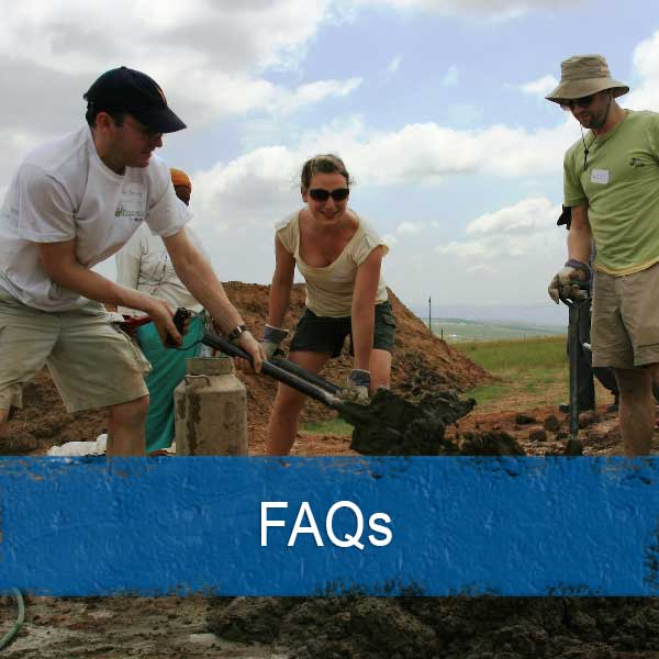 frequently asked questions about volunteering