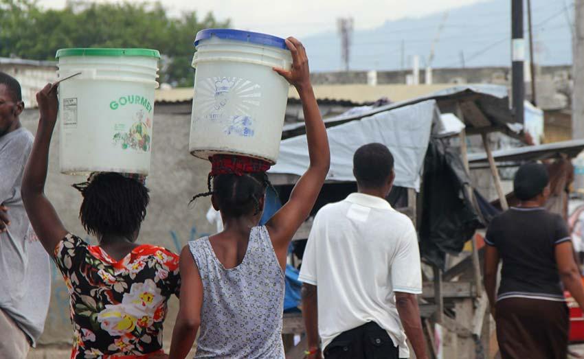 Rebuilding Haiti: Families living in poverty