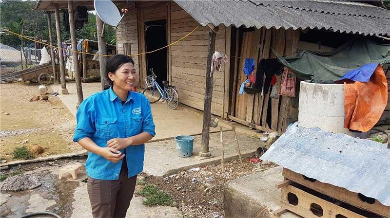 major flood victim in Vietnam Ngyuen Thi Hai