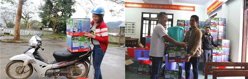 water safety kits distributed in Vietnam