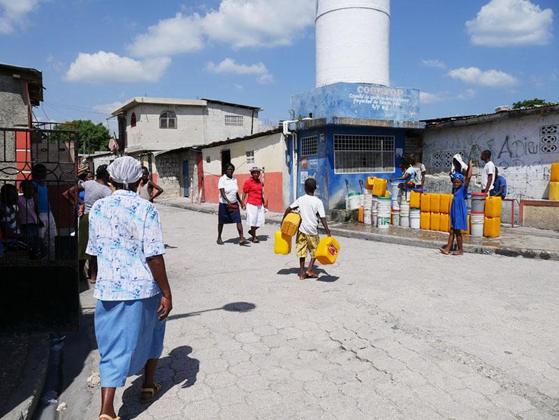 Wash Programme in Simon Pele