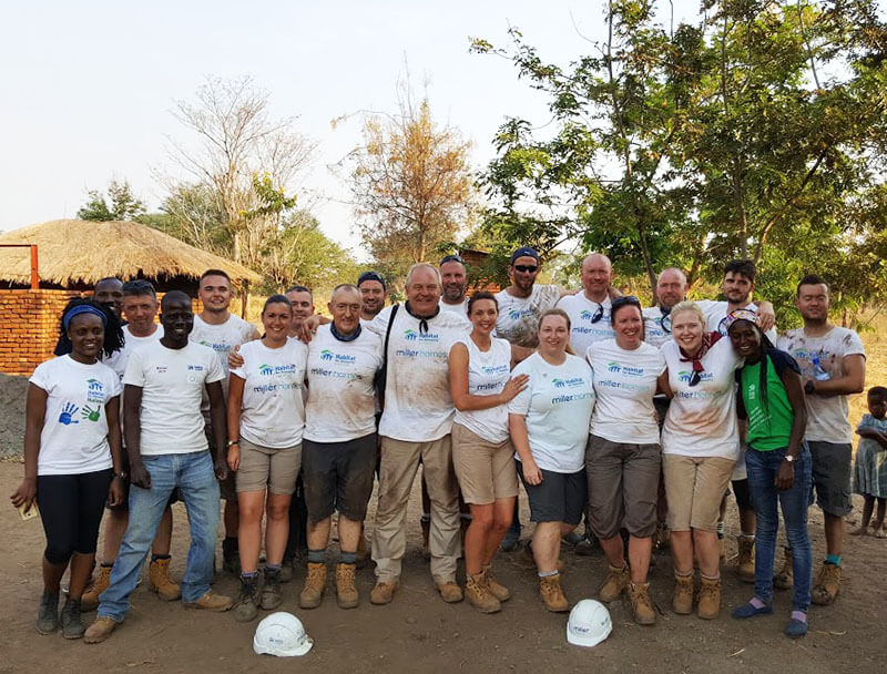 Volunteers making a difference in Malawi