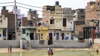 Houses in Bawana, India