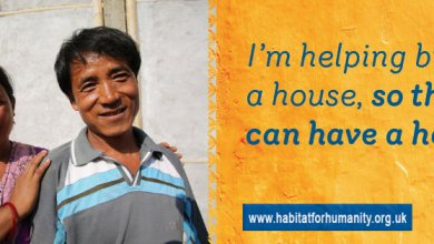 Facebook Cover help build a house charity