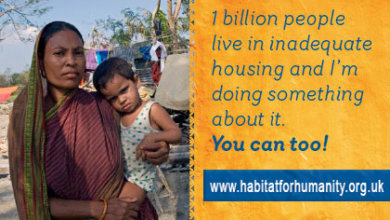 1 billion people live in slums and I'm making a difference
