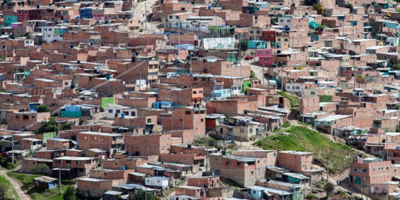 Housing poverty in Colombia