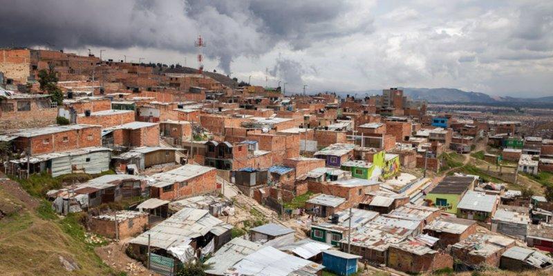 Slums in Colombia