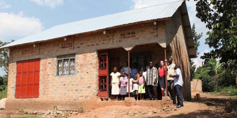 a new habitat home in Uganda