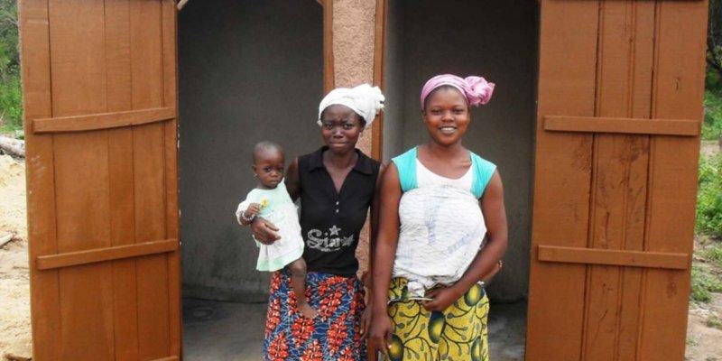 building toilets cote d'ivoire sanitation