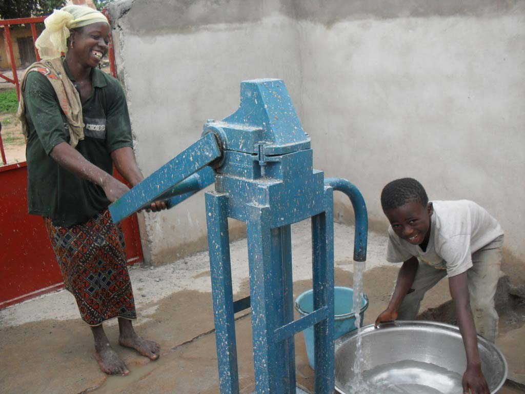 clean water project in Cote d'Ivoire