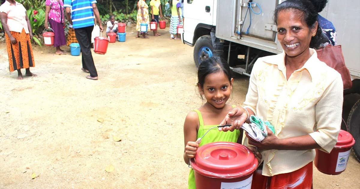 disaster relief sri lanka cyclone mora charity support for families donation