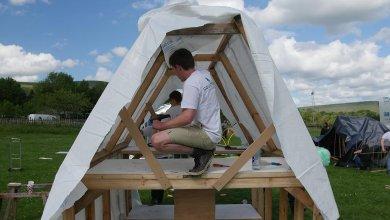 hope challenge building shelter