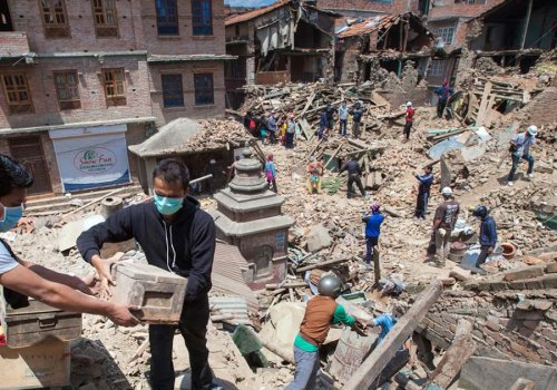 Support Earthquake Relief In Nepal >> Nepal Earthquake Rebuilding Progress One Year On