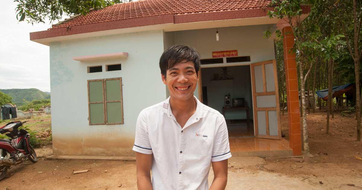 rebuilding homes vietnam disaster response