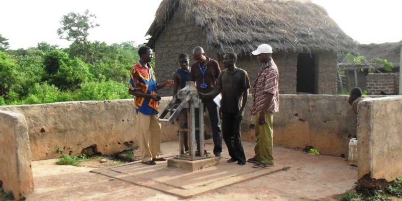 clean water pump cote d'ivoire charity
