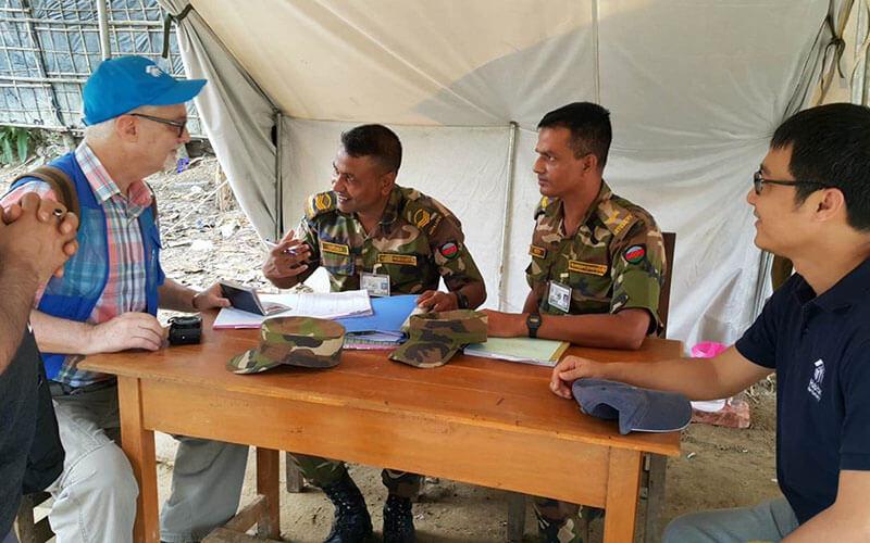 Habitat Officer Rohingya