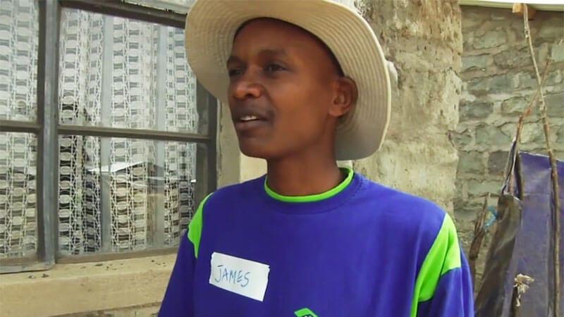 Habitat for Humanity Kenya - James supporting vulnerable children