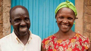 Kenya communities. man and woman