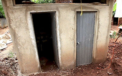 New toilets in Ethiopia
