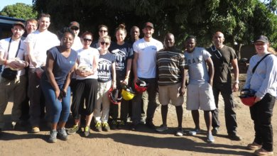 Touchstone team in Malawi