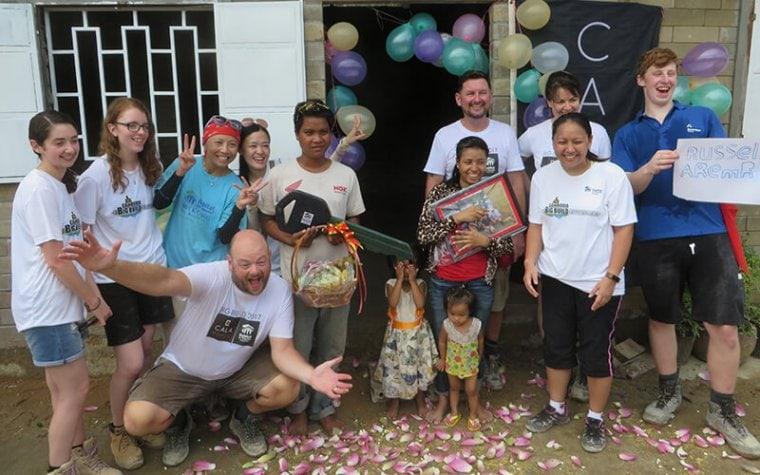 Big Build celebration Cambodia